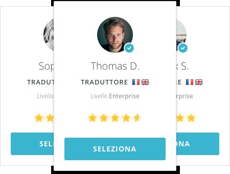 crea il tuo team di traduttori