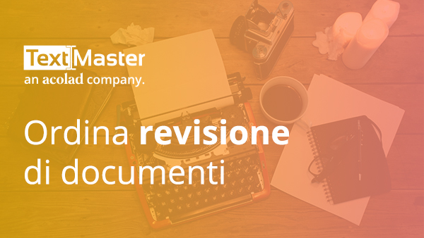 Ordina revisione di documenti